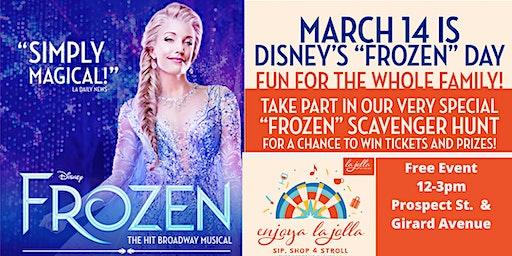 Enjoya La Jolla Celebrates  Disney's Frozen