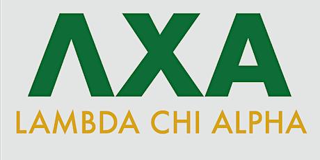 Lambda Chi Alpha- Pi Psi Zeta Chartering Banquet tickets