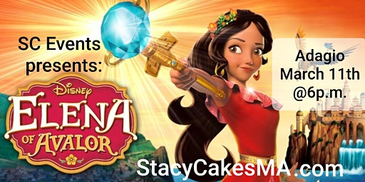 Dinner with Elena of Avalor