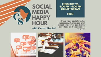 Social Media Happy Hour with CroweSocial