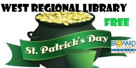 Saint Patrick's Day Bottle Painting  Creation Station West Regional Library tickets