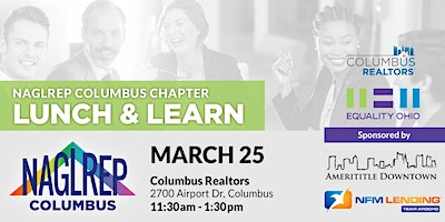 NAGLREP Columbus Lunch & Learn March 25