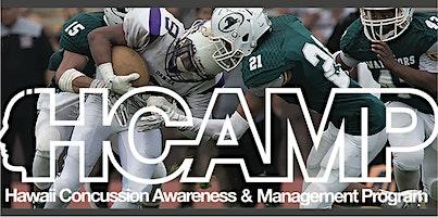 HCAMP FREE Concussion Clinic 2020 - Kauai War Memorial Convention Hall