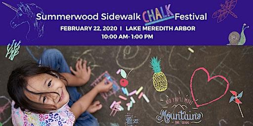 Summerwood Sidewalk Chalk Festival