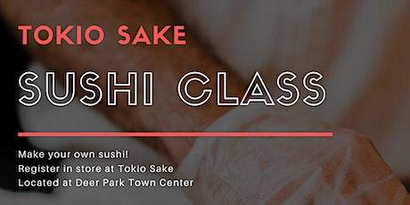 Sushi Class 101 - Make your own Sushi!  tickets