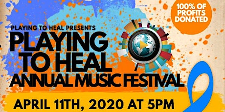 Playing To Heal- Charity Music Festival tickets