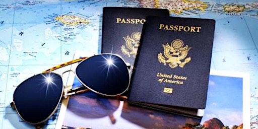Passport Party - Buckst List Vision Boards