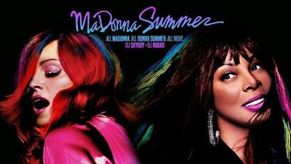 Madonna Summer tickets