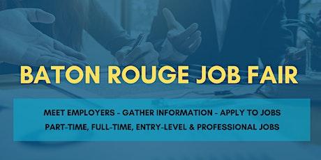 Baton Rouge Job Fair - April 6, 2020 - Career Fair tickets