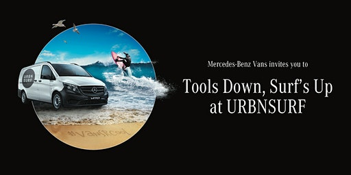 Mercedes-Benz Vans presents Tools Down, Surf's Up at URBNSURF