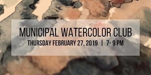 Municipal Watercolor Club