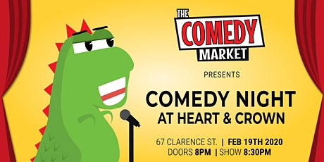 Comedy Night @ Heart & Crown tickets