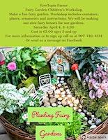 Fairy Garden Children's Workshop