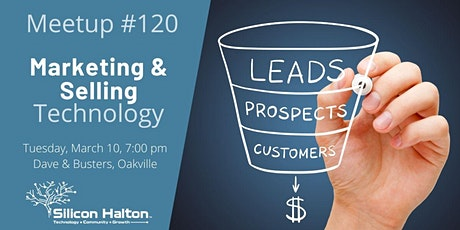 Meetup #120 – Marketing & Selling Technology tickets