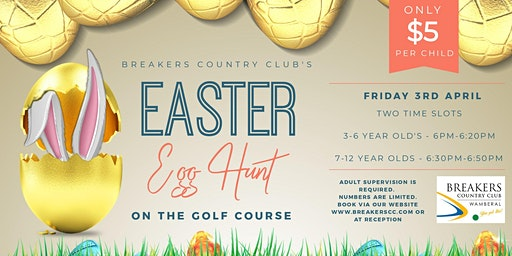 Easter Egg Hunt on the Golf Course