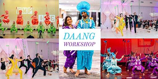 Bhangra Empire's Daang Workshop
