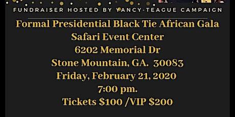 Formal Presidential Black Tie African Gala Fundraiser  tickets