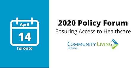 Community Living Ontario Annual Policy Forum tickets