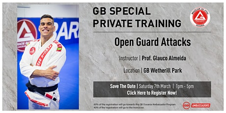 GB Special Private Training at GB Wetherill Park tickets