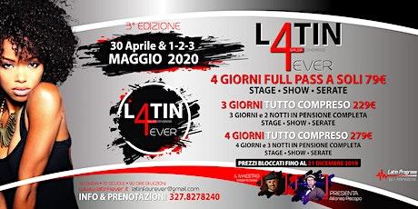 Latin 4 Ever biglietti