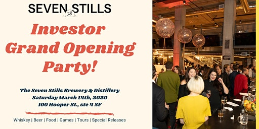 Investor Grand Opening Party!