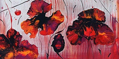 Flower Pour_Acrylic Pouring Workshop tickets