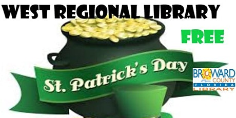 Saint Patrick's Day Feast Creation Station West Regional Library tickets