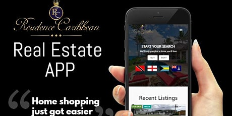 Residence Caribbean APP- Real Estate & Travel tickets