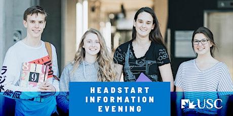 Headstart Information Evening - USC Sunshine Coast tickets
