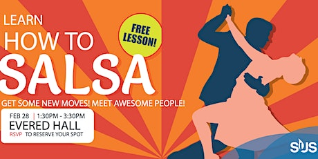Free SALSA classes at THE SUB! tickets