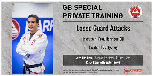 GB Special Private Training at GB Sydney