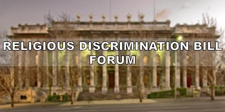 Religious Discrimination Bill Forum tickets