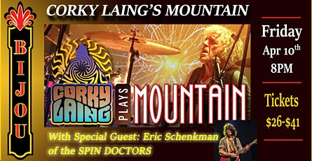 Corky Laing's MOUNTAIN - Mississippi Queen 50th Anniversary Cowbell Tour tickets
