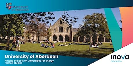Estudia en la Universidad de Aberdeen - sesión informativa, también en línea entradas