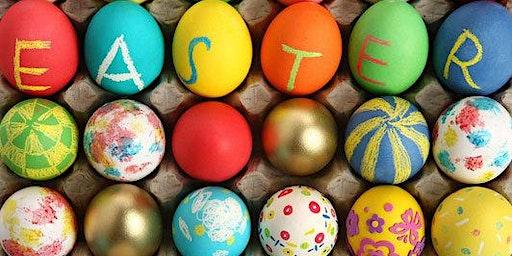 Eggs-ellent Art - Kids Ceramic Eggs Painting Class