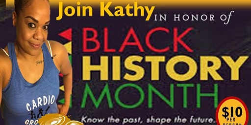 HIPHOP CARDIO GROOVE POPUP BLACK HISTORY