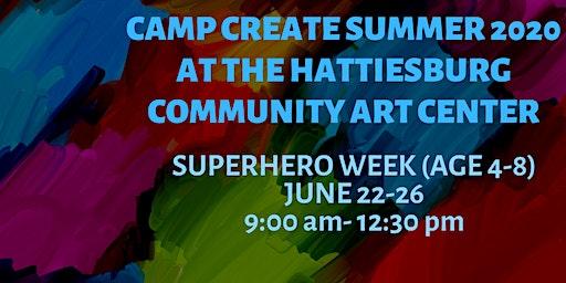 Camp Create Superhero Week(age 4-8)