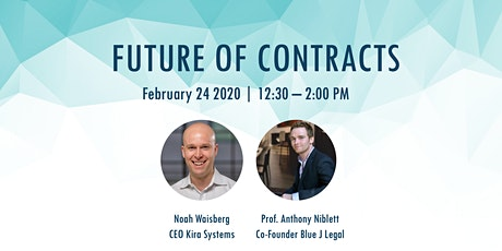Future of contracts - U of T Legal Hackers tickets