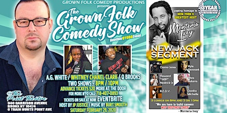 The Grown Folk Comedy Show (BYOBB) FEB WHITNEY tickets