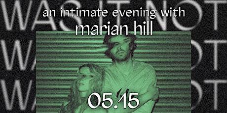 Marian Hill tickets