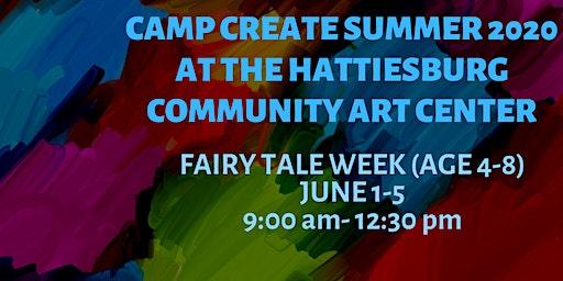 Camp Create Fairy Tale Week (age 4-8)