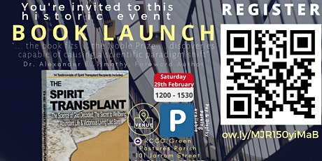 Book Launch 2020 - The Spirit Transplant  tickets