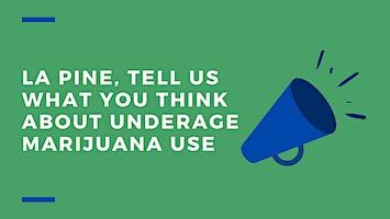 La Pine Focus Group - Underage Marijuana Use