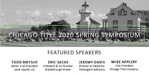 Chicago Title 2020 Spring Symposium