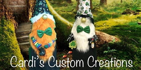 Easter Bunny or Leprechaun 4 foot tall Gnome Craft Class tickets