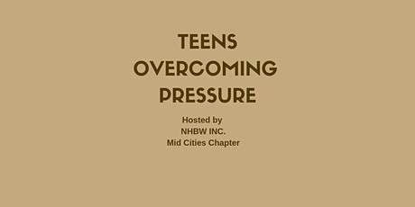 Teens Over Coming Pressure 2020 Summit tickets