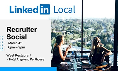 Linkedin Local: Recruiter Social tickets
