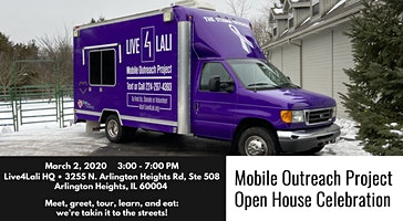 Live4Lali Mobile Outreach Launch Open House