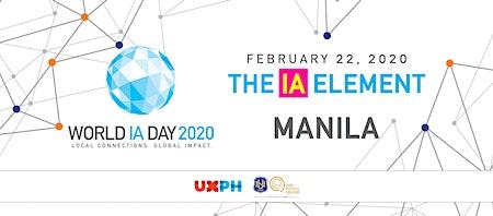 World IA Day 2020: The IA Element