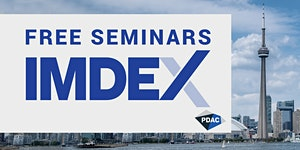 IMDEX - Free Seminars at PDAC 2020